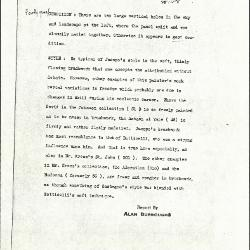 Image for K1158 - Alan Burroughs report, circa 1930s-1940s
