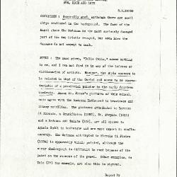 Image for K1162 - Alan Burroughs report, circa 1930s-1940s