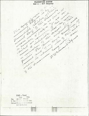 Image for K1160 - Expert opinion by Perkins, circa 1920s-1940s