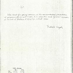 Image for K1157 - Expert opinion by Longhi, circa 1920s-1950s