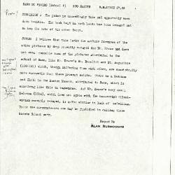 Image for K1155 - Alan Burroughs report, circa 1930s-1940s