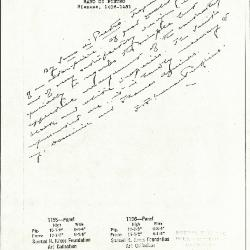 Image for K1155 - Expert opinion by Perkins, circa 1920s-1940s