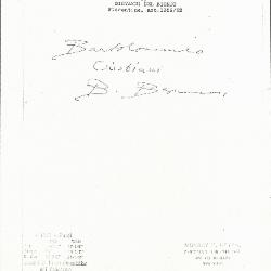 Image for K1161 - Expert opinion by Berenson, circa 1920s-1950s
