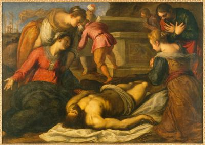 Image for Lamentation over the Dead Christ