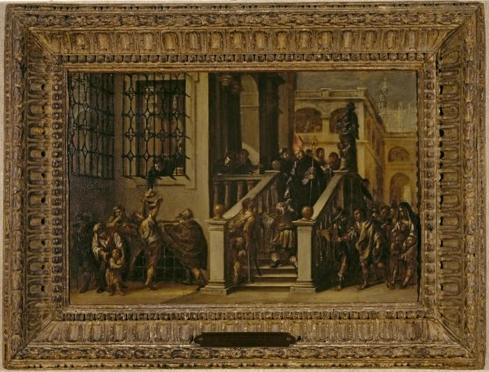 Image for Saint Thomas of Villanueva Giving Alms to the Poor