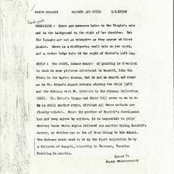 Image for K1165 - Alan Burroughs report, circa 1930s-1940s