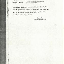 Image for K1169 - Alan Burroughs report, circa 1930s-1940s