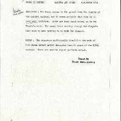 Image for K1174 - Alan Burroughs report, circa 1930s-1940s
