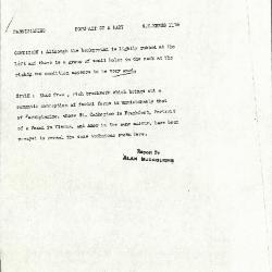 Image for K1175 - Alan Burroughs report, circa 1930s-1940s