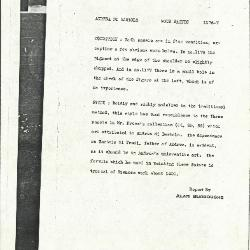 Image for K1176 - Alan Burroughs report, circa 1930s-1940s