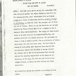 Image for K1166 - Alan Burroughs report, circa 1930s-1940s
