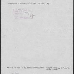 Image for K1173 - Art object record, circa 1930s-1950s