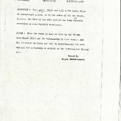 Image for K1173 - Alan Burroughs report, circa 1930s-1940s