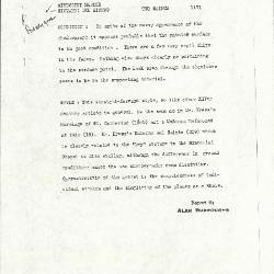 Image for K1171 - Alan Burroughs report, circa 1930s-1940s