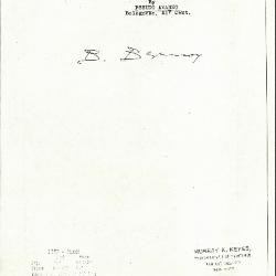 Image for K1169 - Expert opinion by Berenson, circa 1920s-1950s