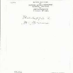Image for K1183 - Expert opinion by Berenson, circa 1920s-1950s
