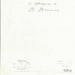 Image for K1186 - Expert opinion by Berenson, circa 1920s-1950s