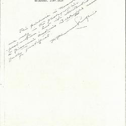 Image for K1183 - Expert opinion by Perkins, circa 1920s-1940s