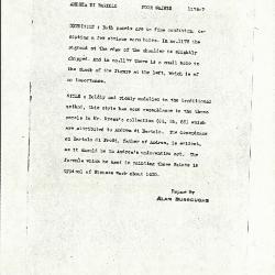 Image for K1177 - Alan Burroughs report, circa 1930s-1940s