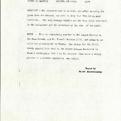 Image for K1179 - Alan Burroughs report, circa 1930s-1940s