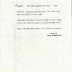 Image for K1192 - Alan Burroughs report, circa 1930s-1940s