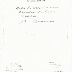 Image for K1193 - Expert opinion by Berenson, circa 1920s-1950s