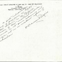 Image for K1186 - Expert opinion by Perkins, circa 1920s-1940s