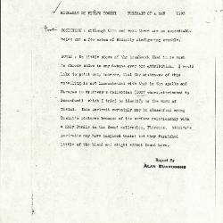 Image for K1193 - Alan Burroughs report, circa 1930s-1940s