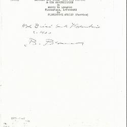 Image for K1190 - Expert opinion by Berenson, circa 1920s-1950s
