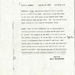 Image for K1190 - Alan Burroughs report, circa 1930s-1940s