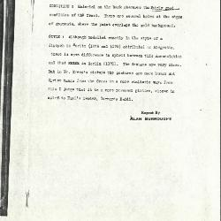 Image for K1197 - Alan Burroughs report, circa 1930s-1940s