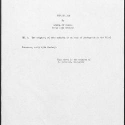 Image for K1188 - Expert opinion by Berenson, circa 1920s-1950s