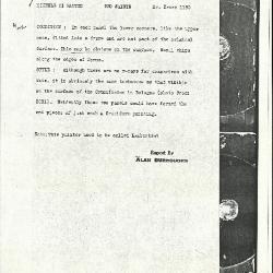 Image for K1195 - Alan Burroughs report, circa 1930s-1940s