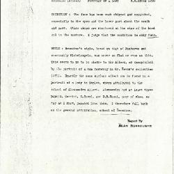 Image for K1200 - Alan Burroughs report, circa 1930s-1940s