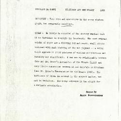 Image for K1202 - Alan Burroughs report, circa 1930s-1940s