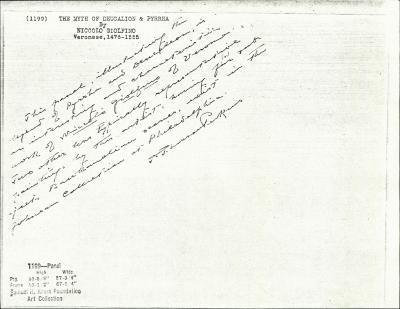 Image for K1199 - Expert opinion by Perkins, circa 1920s-1940s