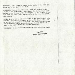 Image for K0120 - Alan Burroughs report, circa 1930s-1940s
