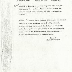 Image for K1207 - Alan Burroughs report, circa 1930s-1940s