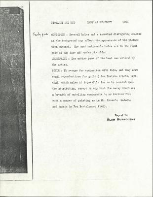 Image for K1208 - Alan Burroughs report, circa 1930s-1940s