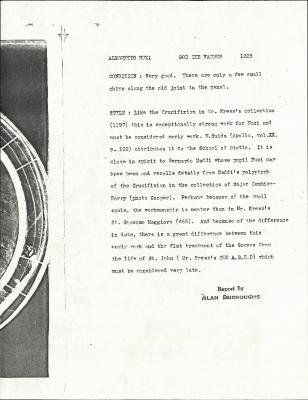Image for K1226 - Alan Burroughs report, circa 1930s-1940s
