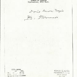 Image for K1223 - Expert opinion by Berenson, circa 1920s-1950s