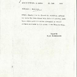 Image for K1223 - Alan Burroughs report, circa 1930s-1940s