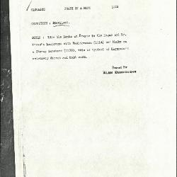Image for K1222 - Alan Burroughs report, circa 1930s-1940s