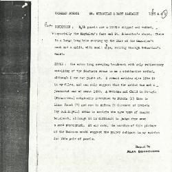 Image for K1229B - Alan Burroughs report, circa 1930s-1940s