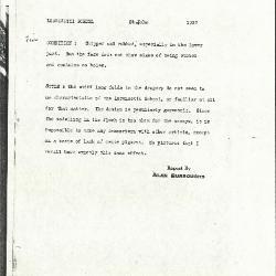 Image for K1237 - Alan Burroughs report, circa 1930s-1940s