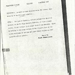Image for K1228 - Alan Burroughs report, circa 1930s-1940s