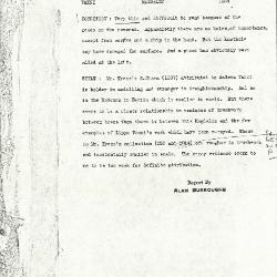 Image for K1234 - Alan Burroughs report, circa 1930s-1940s