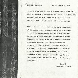 Image for K1269 - Alan Burroughs report, circa 1930s-1940s