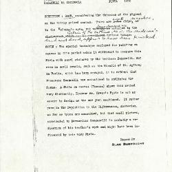 Image for K1263 - Alan Burroughs report, circa 1930s-1940s