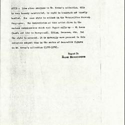 Image for K1266 - Alan Burroughs report, circa 1930s-1940s